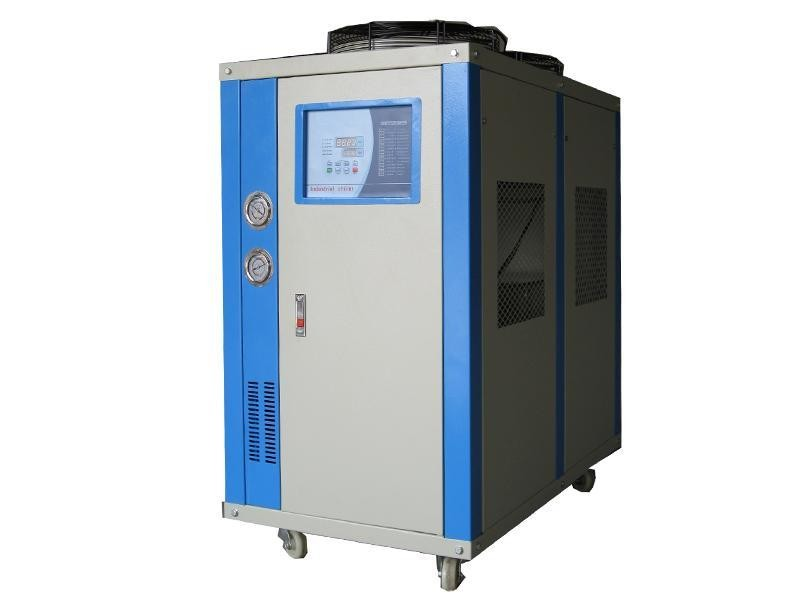 20L / Min Working Speed Industrial Air Cooled Chiller With Digital LCD Display