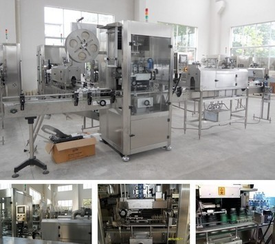 2.5KW Shrink Sleeve Labeling Machine With High Cutting Precision Of Labels